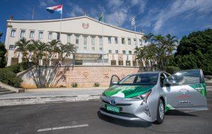 Primeiro protótipo de veículo híbrido flex do mundo é apresentado em SP