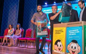 Turma da Mônica participa da Campanha do Agasalho 2018