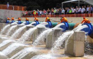 Estado inaugura obra que amplia segurança hídrica em SP e no RJ