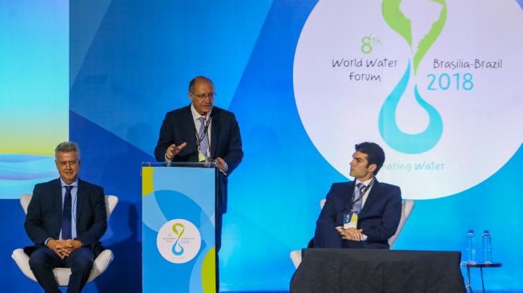Governador Geraldo Alckmin participa do 8º Fórum Mundial da Água