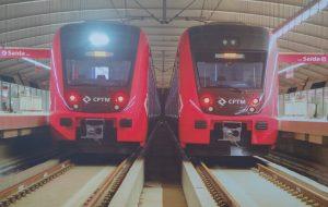 Dois novos trens chegam à Linha 11-Coral Expresso Leste