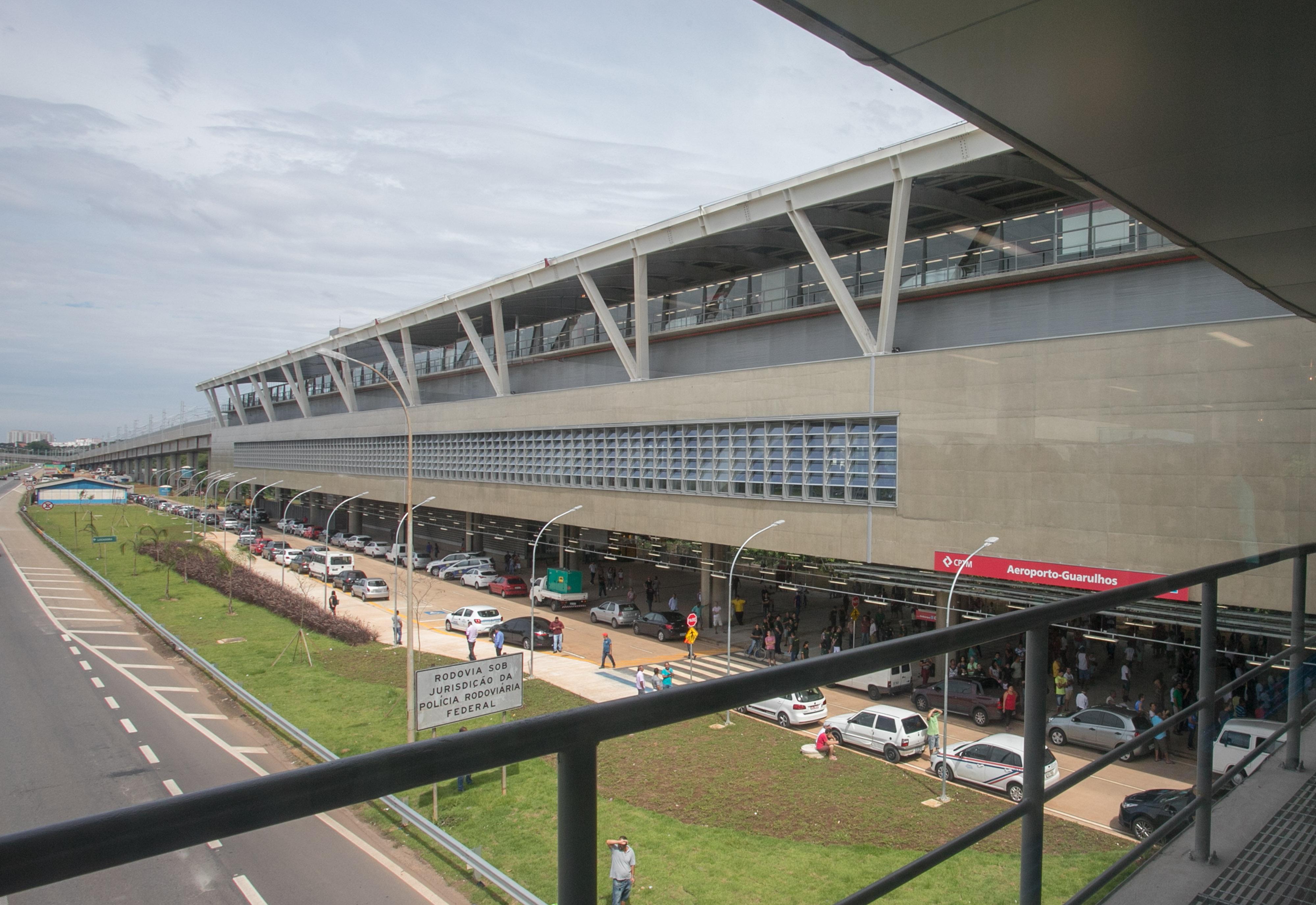 Aeroporto Sp : Estação da cptm que leva ao aeroporto de guarulhos é inaugurada