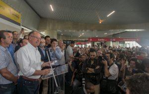 Estação da CPTM que leva ao Aeroporto de Guarulhos é inaugurada