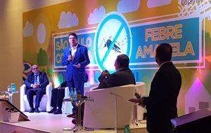 Saúde promove simpósio para discutir febre amarela no Estado