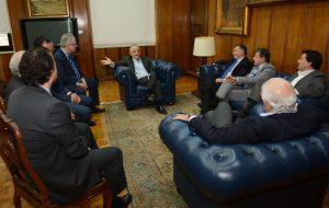 Governador Márcio França recebe comunidade judaica