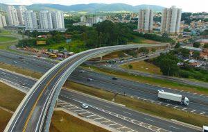 Viaduto das Valquírias, 2ª etapa do Complexo Jundiaí, é entregue