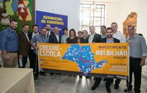 Alckmin libera R$ 306 mi para obras de 80 creches e 13 escolas