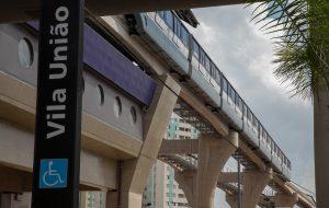 Companhia do Metropolitano inaugura quatro estações da Linha 15-Prata