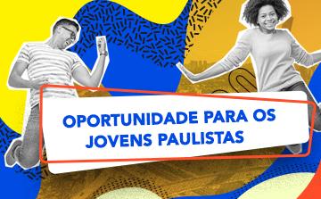 Jovens contam com incentivo do Governo de São Paulo