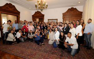 Presidente do Fundo Social recebe representantes de 78 entidades sociais da capital