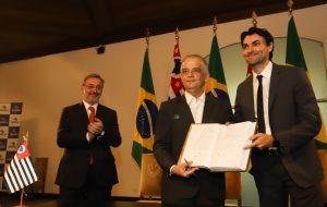Governador empossa novo secretário de Esporte de São Paulo