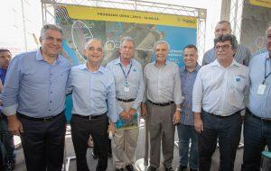 Inaugurada ampliação do tratamento de esgoto na Baixada Santista