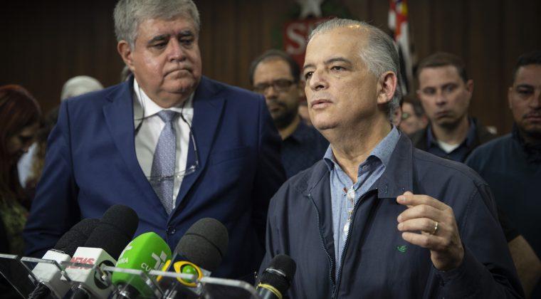 Governador encerra noite de negociações com o Ministro Carlos Marun