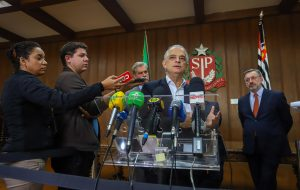 Governador anuncia retomada do abastecimento em São Paulo