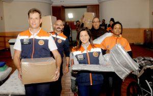 Fussesp e Defesa Civil ajudam pessoas em situação de rua na capital
