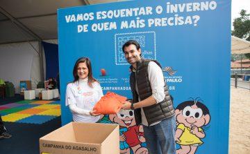 SP estimula doações para a Campanha do Agasalho 2018