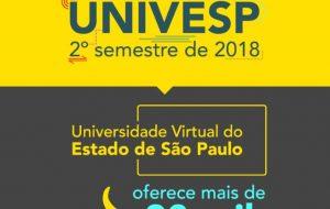 Vestibular Univesp 2018: inscrições chegam a reta final