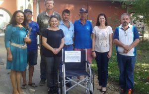 Projeto da Sabesp troca lacres de alumínio por cadeiras de roda