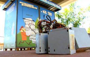 Estações do Metrô recebem coletores de lixo eletrônico até dia 22