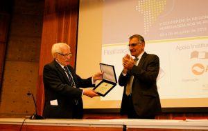 Professor José Goldemberg é homenageado em evento na USP