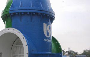 Sabesp expõe peça histórica no reservatório de Interlagos
