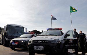 Governo paulista equipa Polícia Civil com 83 novas viaturas