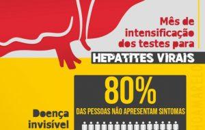 #JulhoAmarelo destaca importância da prevenção da hepatite