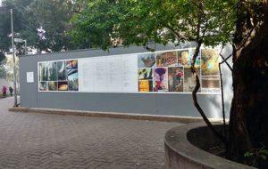 Estação Vila Olímpia exibe painel em homenagem a Haroldo de Campos
