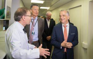 Hospital das Clínicas de São Paulo recebe visita técnica do governo