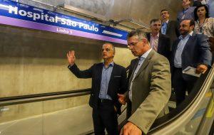 Metrô: três estações da linha 5-Lilás recebem visita técnica