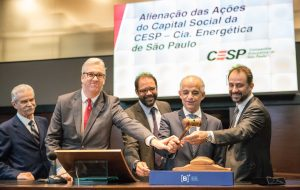 Leilão da Cesp é vencido pelo Consórcio São Paulo Energia