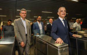 Estação São Paulo-Morumbi do Metrô recebe visita técnica
