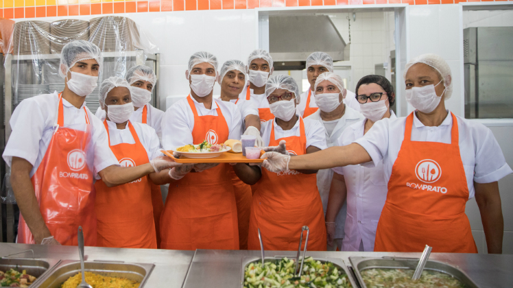 Município de Jandira recebe 55ª unidade do programa Bom Prato