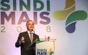 Governador Márcio França prestigia abertura do SindiMais 2018