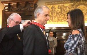Governador é condecorado com o Colar do Mérito Judiciário