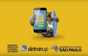 Governo de SP incentiva a direção responsável no Verão