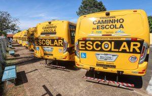 Estado de SP investe na compra de ônibus escolares para 102 municípios