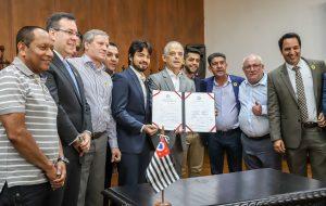 Prefeitura de Guarulhos e Sabesp firmam acordo na área de saneamento