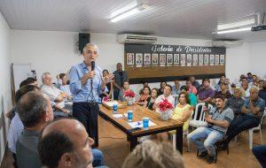 Em Assis, governador participa de reunião com diretoria do Civap