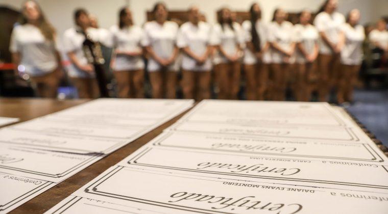 SAP certifica reeducandas em evento no Palácio dos Bandeirantes