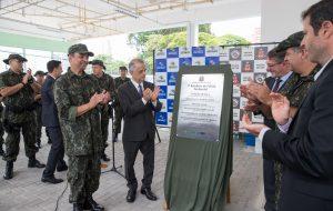 Governador prestigia evento no 1º Batalhão da PM Ambiental