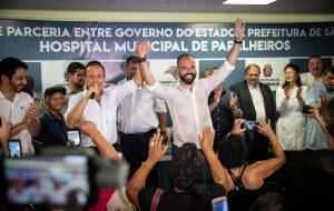 Na capital, governador realiza visita técnica em hospital de Parelheiros
