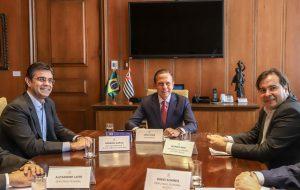 Governador recebe visita do presidente da Câmara dos Deputados