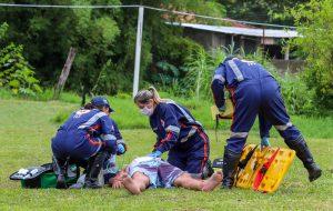 Defesa Civil promove simulado de desastres em São Luiz do Paraitinga
