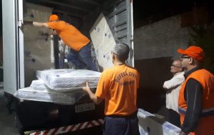 Defesa Civil realiza ajuda humanitária em Guarulhos após alagamentos