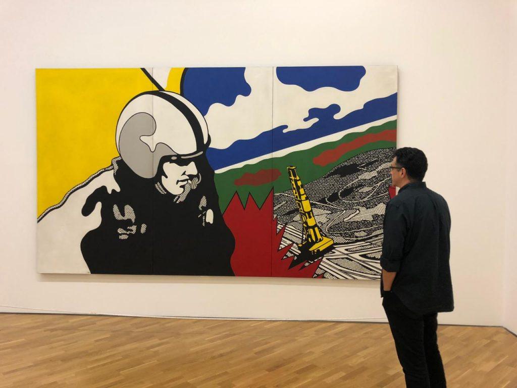 Sérgio Sá Leitão visita a Pinacoteca no Aniversário de São Paulo
