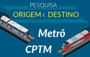 Pesquisa revela evolução dos serviços do Metrô e CPTM em SP