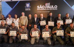 'Policial Nota 10' certifica policiais militares, civis e técnico-científicos