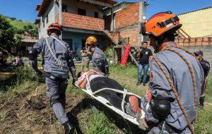 Defesa Civil de SP promove simulado de desastres em São Sebastião