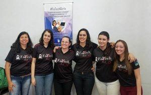 Fatech Girls promove oficinas com alunas do Ensino Fundamental